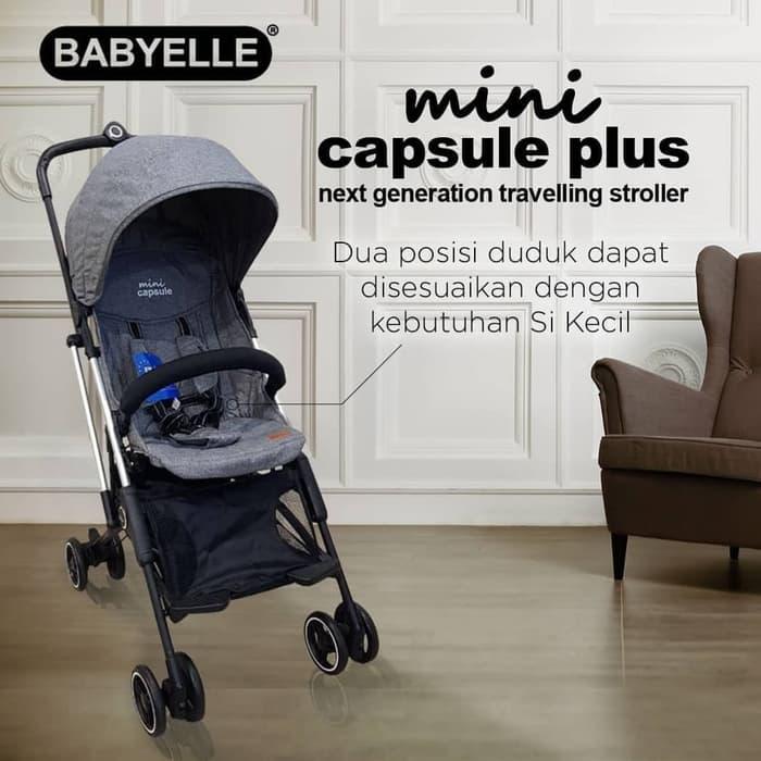Baby Elle Mini Capsul Baby Varent Sewa Stroller bayi