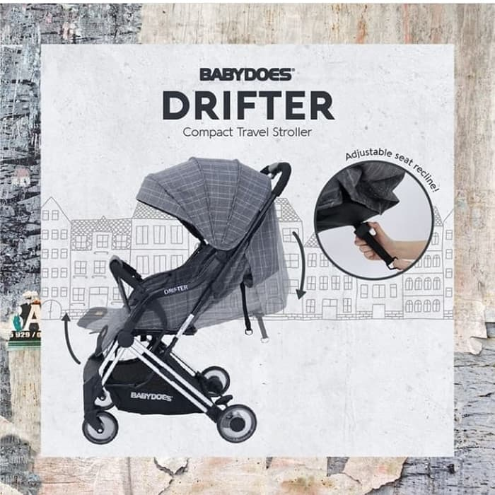 Sewa Stroller anak Jogja baby does drifter